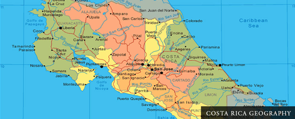 Costa Rica Geography