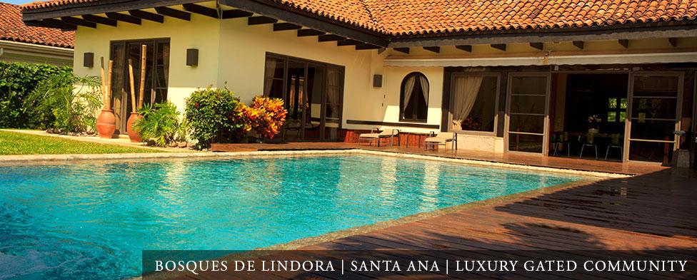 Bosques de Lindora Santa Ana Luxury Gated Community